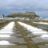 Salt pans under the castle, Castro Marim, Emilia Paula Silva
