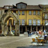 Oliveira square, Guimaraes, Portugal
